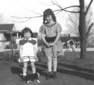 Linda and younger sister, Becky